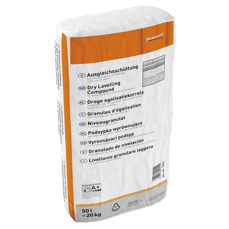 Fermacell gebundene Schüttung 80 Liter pro Sack